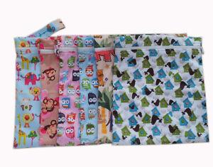 Baby Wickeltasche Wetbag,Wasserdicht Stoff Feuchttücher Organiser Beutel