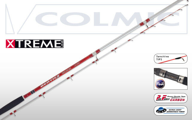 CANNA COLMIC DENTICE LIGHT 2,70 MT 70350 GR 2 SEZIONI BARCA TRAINACANNA