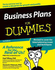 Business Plans For Dummies by Paul Tiffany, Steven D. Peterson (Paperback, 2004)