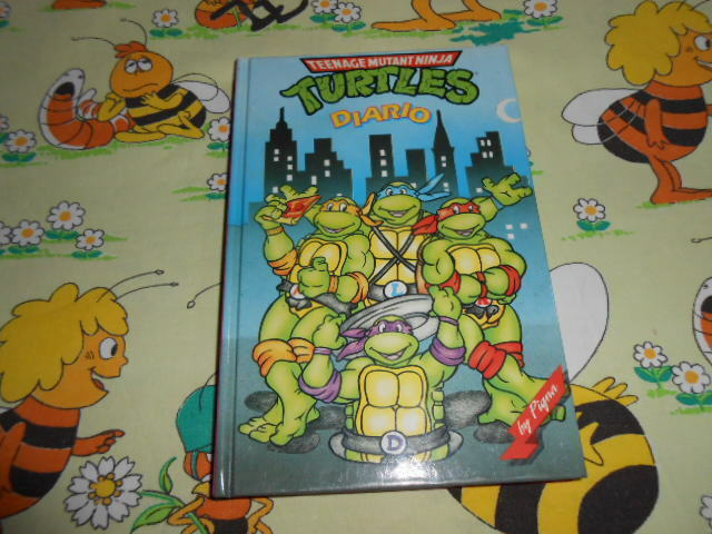Diario Tartarughe TEENAGE MUTANT TMNT Ninja Turtles Pigna