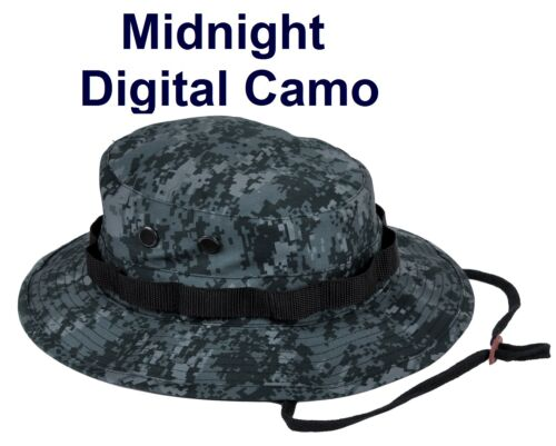 BOONIE HAT Bucket Bush CAMO Army USAF Navy USMC Paintball OEF OIF Vietnam Hunter