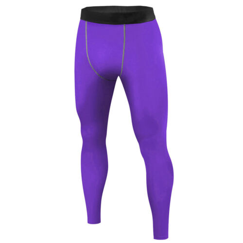 Mens Football Basketball Under Compression Pants Base Layers Tights Plus Size