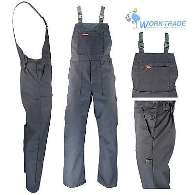 Arbeitslatzhose Rot Arbeitskleidung Latzhose Blaumann Arbeitshose Gr 46-62