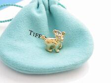 Tiffany & Co 18K Yellow Gold Picasso Zodiac Dog Diamond Charm!