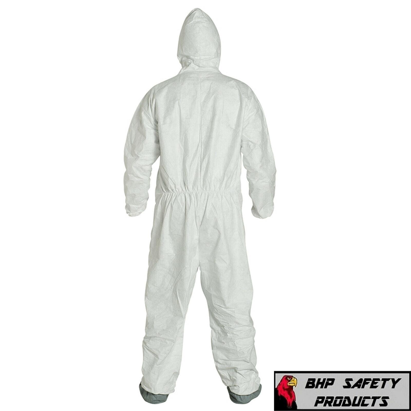 25//Case Hood /& Bottes DuPont Tyvek 400 Blanc Combinaison TY122SWH-3XL