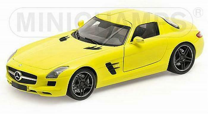 Mercedes SLS AMG 2010 jaune 1 18 MINICHAMPS 100039022
