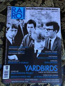 RARO-186-Magazine-about-discography-ps-YARDBIRDS-Celentano-Caselli-Delirium