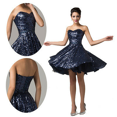 Princess Masquerade Cocktail Celebrity RETRO Dress Evening Prom Party Swing Gown