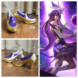 0b685d1e9 LOL League of Legends Star Guardian Syndra Cosplay Shoes Custom Made ...