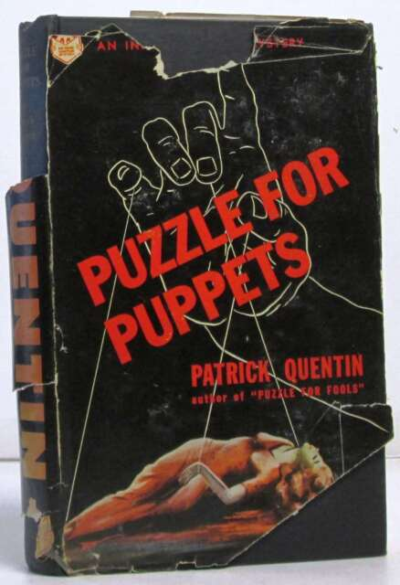 Puzzle for puppets: A Peter Duluth mystery.Quentin, Patrick..Book.Very Good