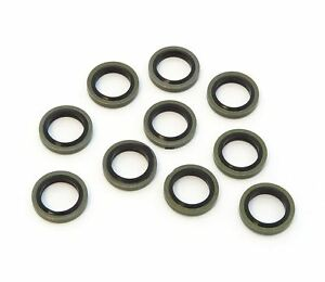 Brake Fitting Banjo Bolt Sealing Washers 3//8 10mm 10 pack