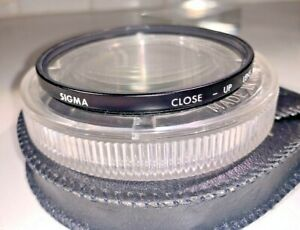 Sigma 72mm Close-up Lens / Filter, Japan-made with case