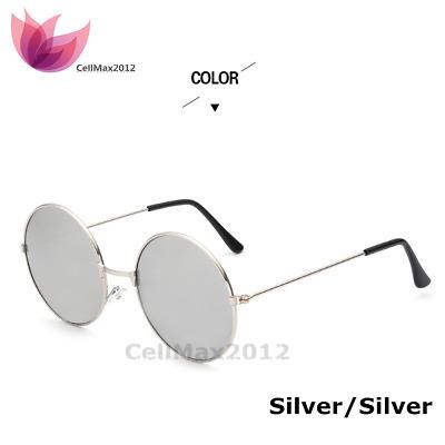 Vintage Retro Mirror Round Circle SUN Glasses Goggles Steampunk Punk Sunglasses