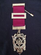 Masonic Regalia - Royal Arch Principals full size breast jewel 38mm wide - new