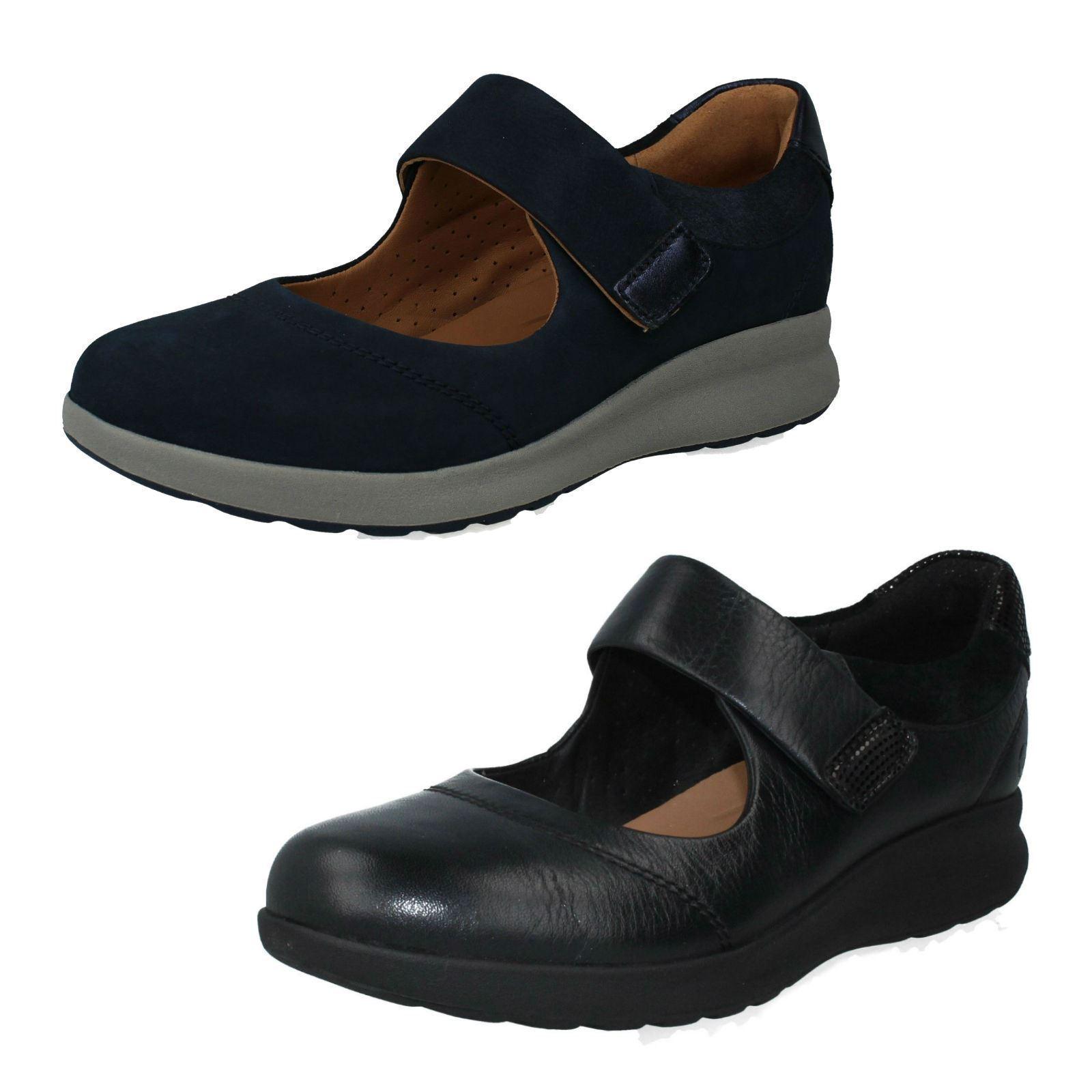 Clarks Mujer sin Estructura Zapatos ' Onu Adornos Tira Tira Tira '  el estilo clásico