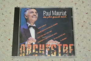 Rare-Paul-Mauriat-France-CD-Gold-Concert
