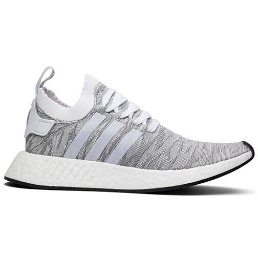 Size 8.5 - adidas NMD R2 Primeknit Running White 2017 - BY9410 for sale online | eBay