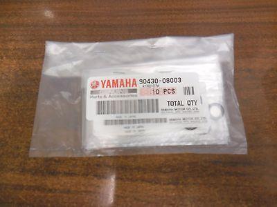 10x YAMAHA OEM Outboard Lower Unit Oil Drain Gasket 90430-08020-00 90430-08003