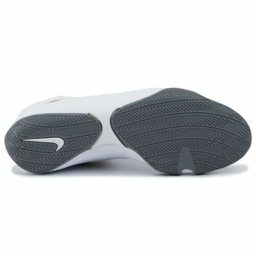 Nike Machomai 2 Boxing Boots Boxen Schuhe Chaussures de Boxe Ring White//Gold