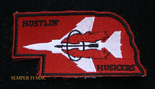 RF-4 PHANTOM HUSTLIN HUSKER 155th TRG PATCH US AIR FORCE Lincoln AIR GUARD AFB