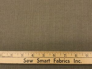 100-Wool-Worsted-Shetland-Weave-Taupe-60-034-Width-3-yd-Pieces