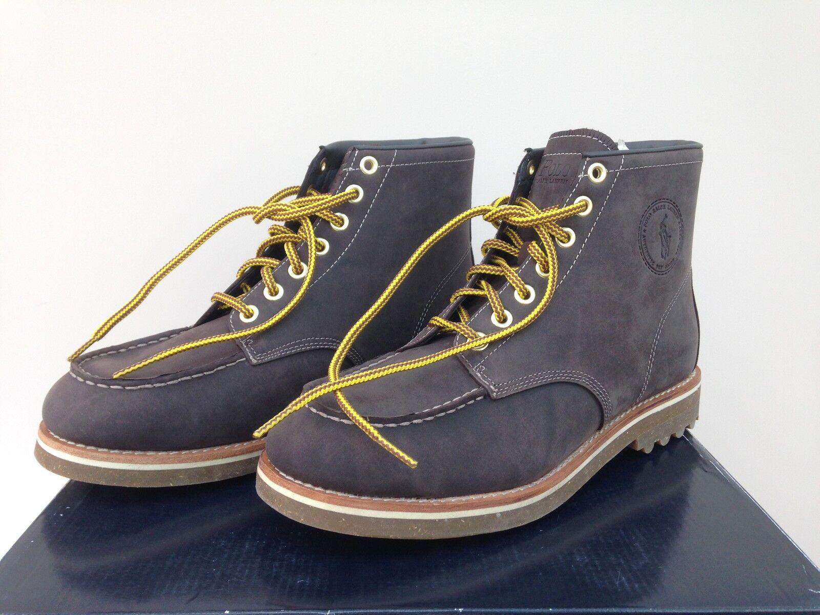 prezzo basso Ralph Lauren Lace-Up Stivali Stivali Stivali in Marrone Marvin A86Y0300RF001- EU 43  più economico