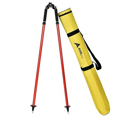 Seco Topcon AdirPro Thumb Release Red Range Prism Pole Bipod Surveying