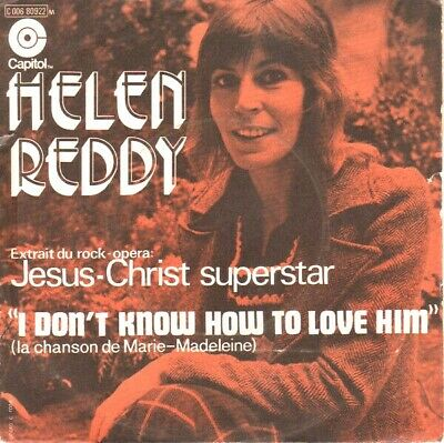 Image result for i don't know how to love him helen reddy single images