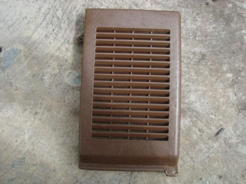 1984 85 86 87 88 89 Toyota Pickup Truck 4Runner brown Right Dash Speaker Cover