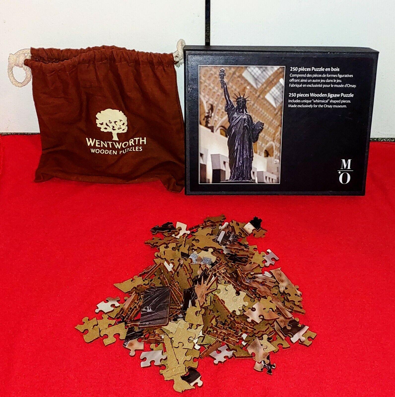 Rare    Wentworth Musée d'Orsay Statue de la liberté en bois 250 piece Jigsaw Puzzle