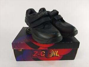 Z-Coil-Z-Walker-Black-Walking-Comfort-Shoes-Mens-Size-9