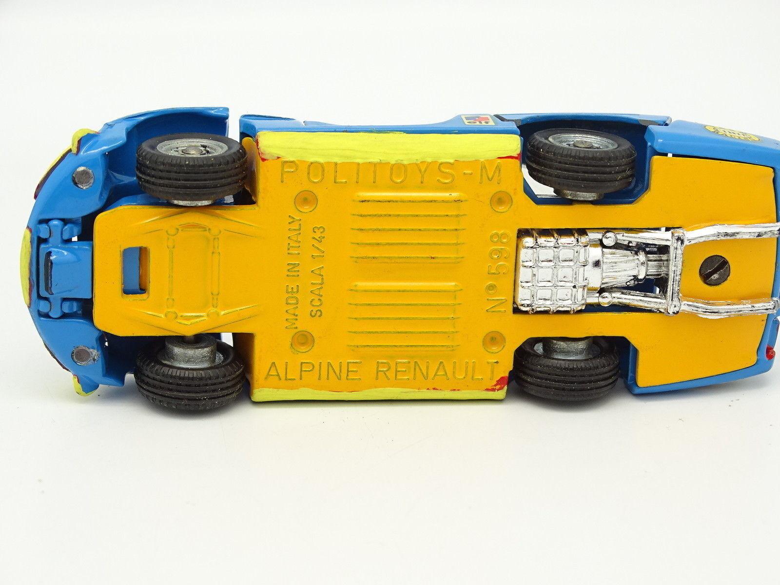 Politoys SB 1 1 1 43 - Alpine Renault A220 3L Nº3 b1c616