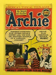 Archie-Comics-65-in-Atomic-Fishin-039-Mirth-of-a-Nation-52-page-magazine-1953