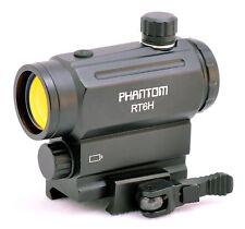 PHANTOM Light Sensor CQB Mini Micro Red Dot Scope Sight with QD Riser Mount