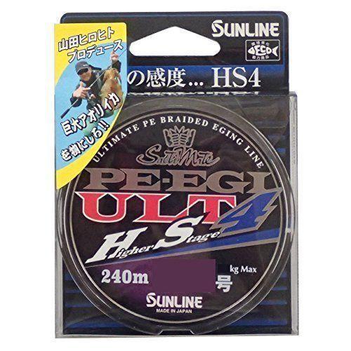SUNLINE PE  Line Saltimate EGI ULT HS4 240m  0.3  Fishing LINE From JAPAN  el precio más bajo