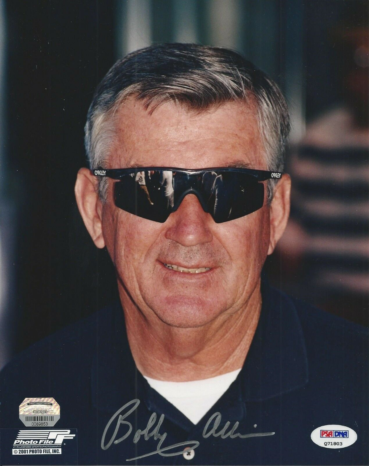 Bobby Allison Signed Nascar 8x10 Photo PSA/DNA # Q71803