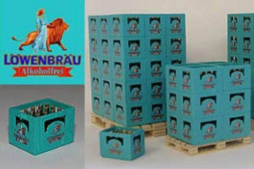 Cerveza caja Löwenbräu alcohol libre 1:16//1:18