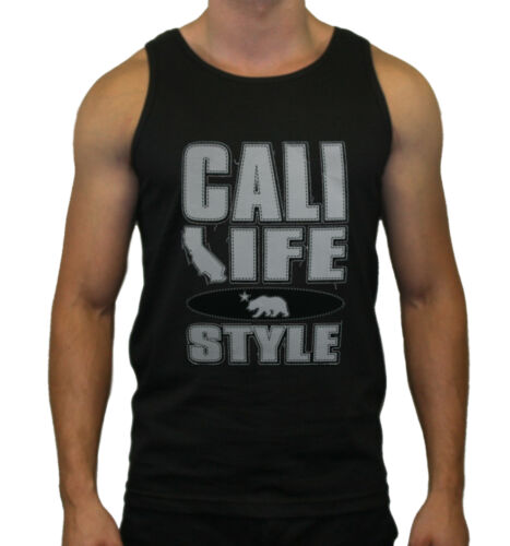 Cali Life Style Design Tank Top for Men