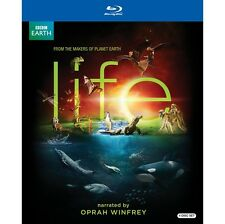 BBC Earth Life 4 BLURAY Gift Set Narrated by Oprah Winfrey
