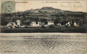 CPA PONT-a-MOUSSON La Cote de Mousson (805478)