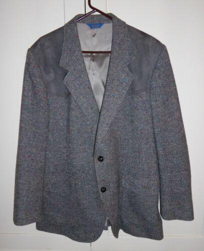 Pendleton Woolen Mills virgin wool western blazer