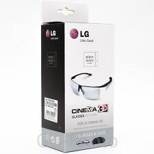 NEW LG AG-F360 Alain Mikli Lunettes Passive Glasses for LG Cinema 3D TV Gafas 4K