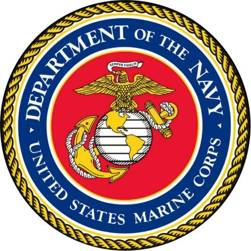 Marine U.S.M.C NAVY Seal Military Insignia Vinyl Decal Sticker
