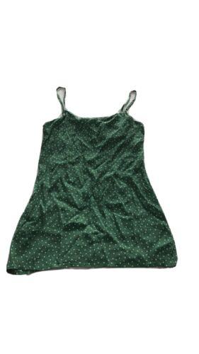 Reformation Green Polka Dot Dress