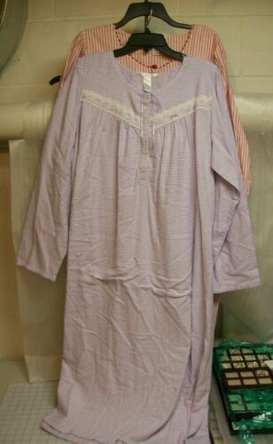 WOMENS ADONNA NIGHT GOWNS MULTIPLE COLORS AND SIZES NEW WITH TAGS MSRP$39.00