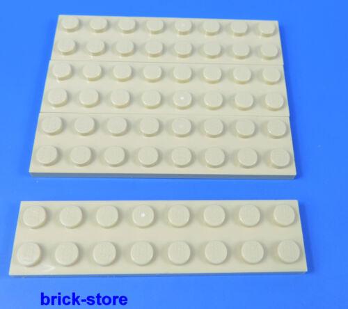 LEGO® Nr 4 Stück 4113988 2x8  Platte beige