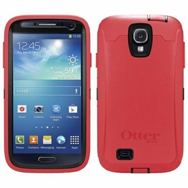 size 40 7ce04 413f0 Samsung Galaxy S4 Defender Case - Raspberry OTTERBOX 660543020233