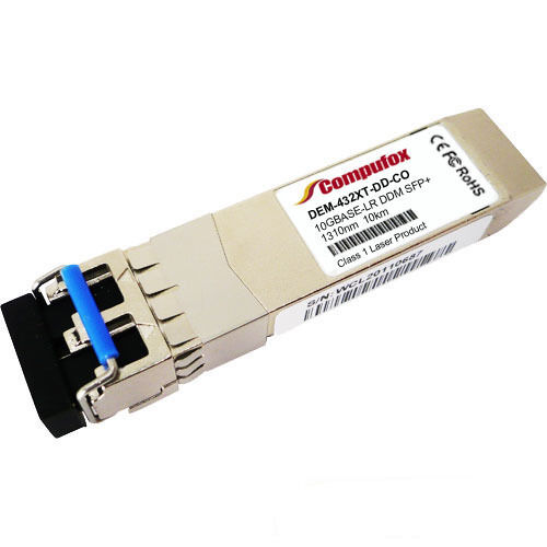 Compatible with D-Link 10GBASE-LR SFP DEM-432XT-DD SMF 1310nm 10km LC DDM