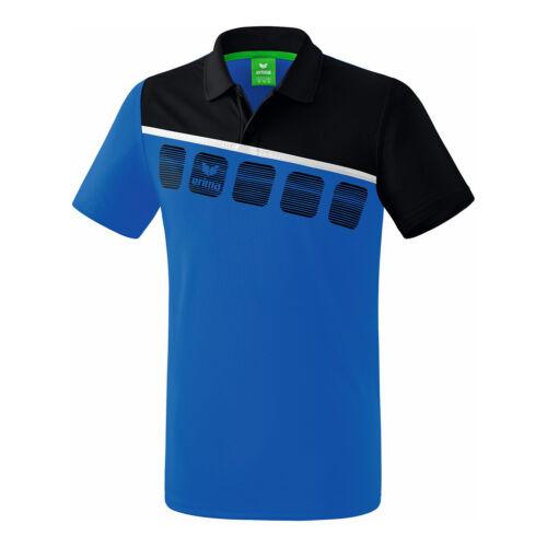 Erima Herren 5-C Function Polo  Polo blau NEU