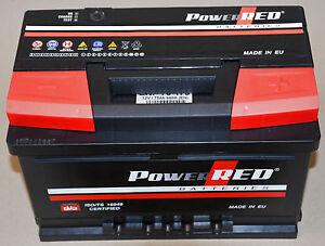 starterbatterie pkw batterie 12v 75ah 680a 190mm hoch ersetzt 66ah 71ah 74ah ebay. Black Bedroom Furniture Sets. Home Design Ideas